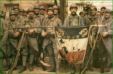 Des Poilus de la Première Guerre mondiale